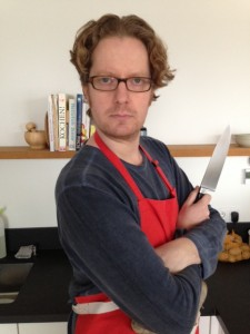 The writing chef