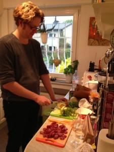 Der kochende Autor