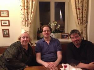 Sonya, Michael und Yury