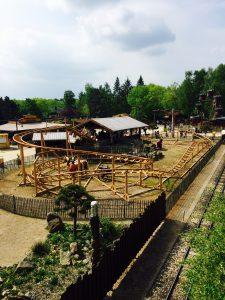 Die Kinderachterbahn im Heidepark