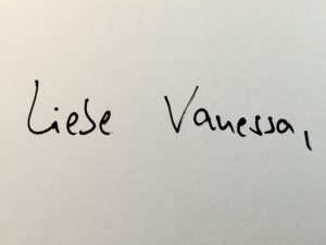 Liebe Vanessa